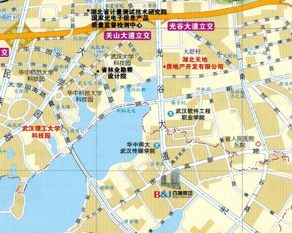 集团总部地址             地址:武汉市光谷大道藏龙岛百捷科技园